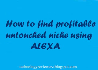 How to find Profitable Untouched Niche using Alexa