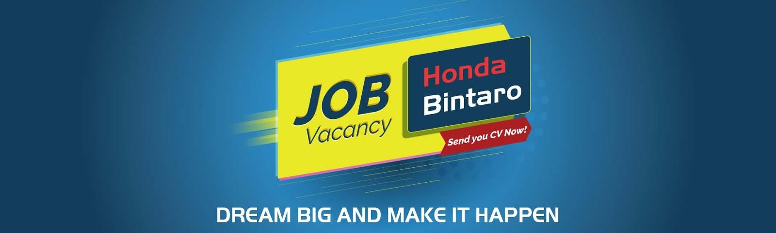 Honda Bintaro | Career
