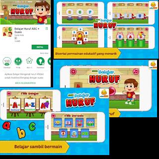 Game edukasi huruf anak balita