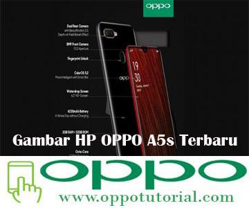 Gambar HP OPPO A5s