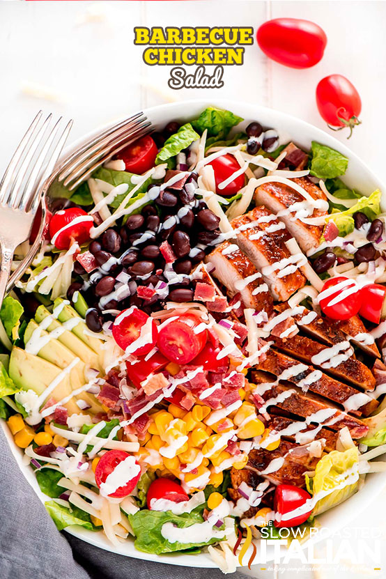 California Pizza Kitchens Bbq Chicken Salad