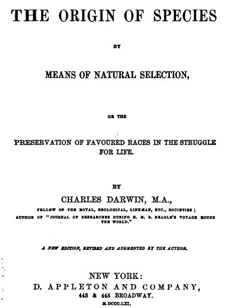 origin of species book pdf free
