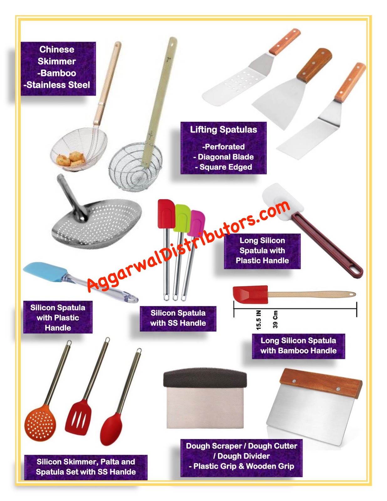 Aggarwal Distributors Kitchen Utensils & Machines
