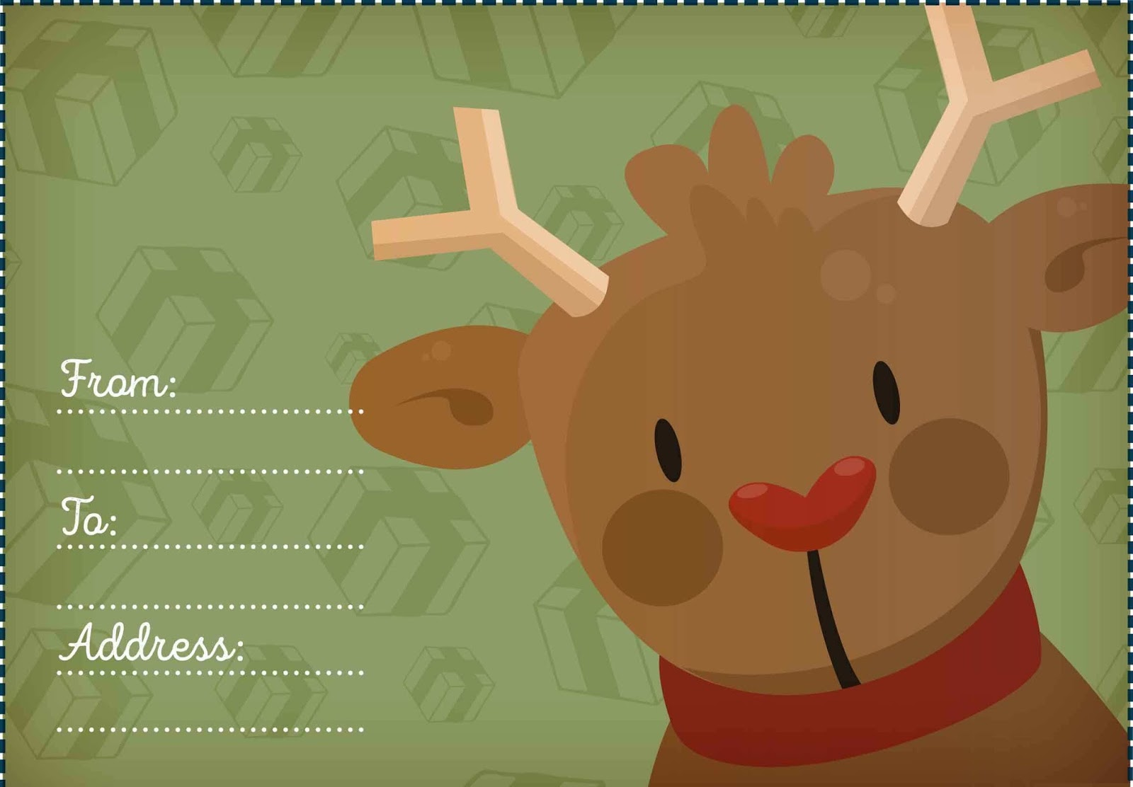 Free Christmas Card Templates for Photoshop