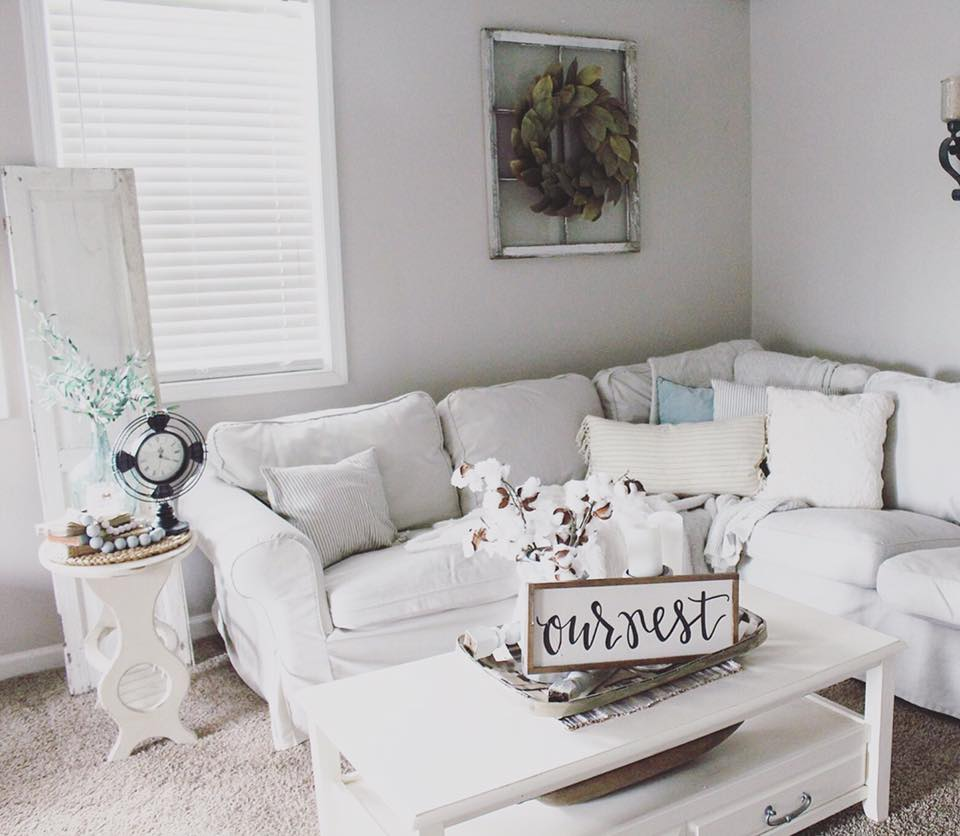 Mood Board Rustic Glam Farmhouse Living Room Our DIY ...