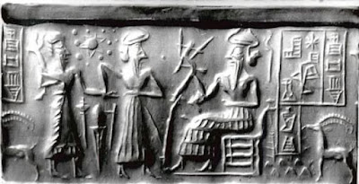 sumerian cylinder seal - facts about ancient sumerians