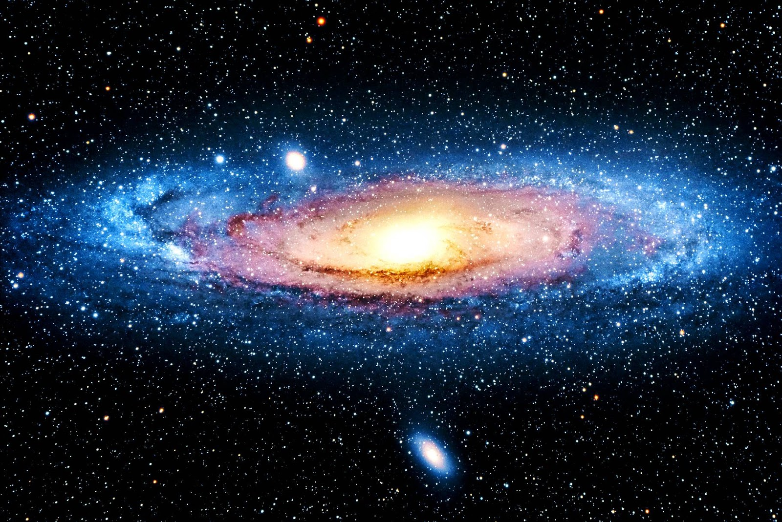 Andromeda Galaxy - Wallpaper HD | Earth Blog