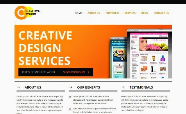 Creative Studio - Business HTML5 Template