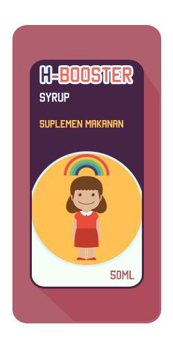 H-booster Syrup Suplemen Pendamping Obat