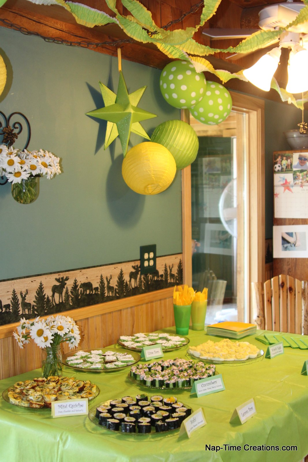 Green And Yellow Baby Shower Life Sew Savory