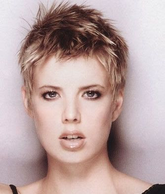 super short hairstyles for blonde hair Super short styles are often styled