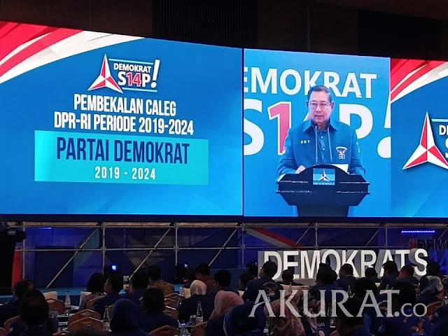 Pesan SBY kepada Caleg Demokrat: Sukses Itu Tidak Datang dari Langit
