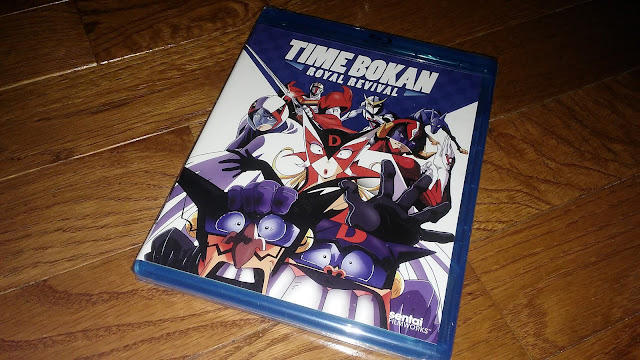 Right Stuf Anime Review - $5 Blind Box : Time Bokan Royal Revival Blu-ray