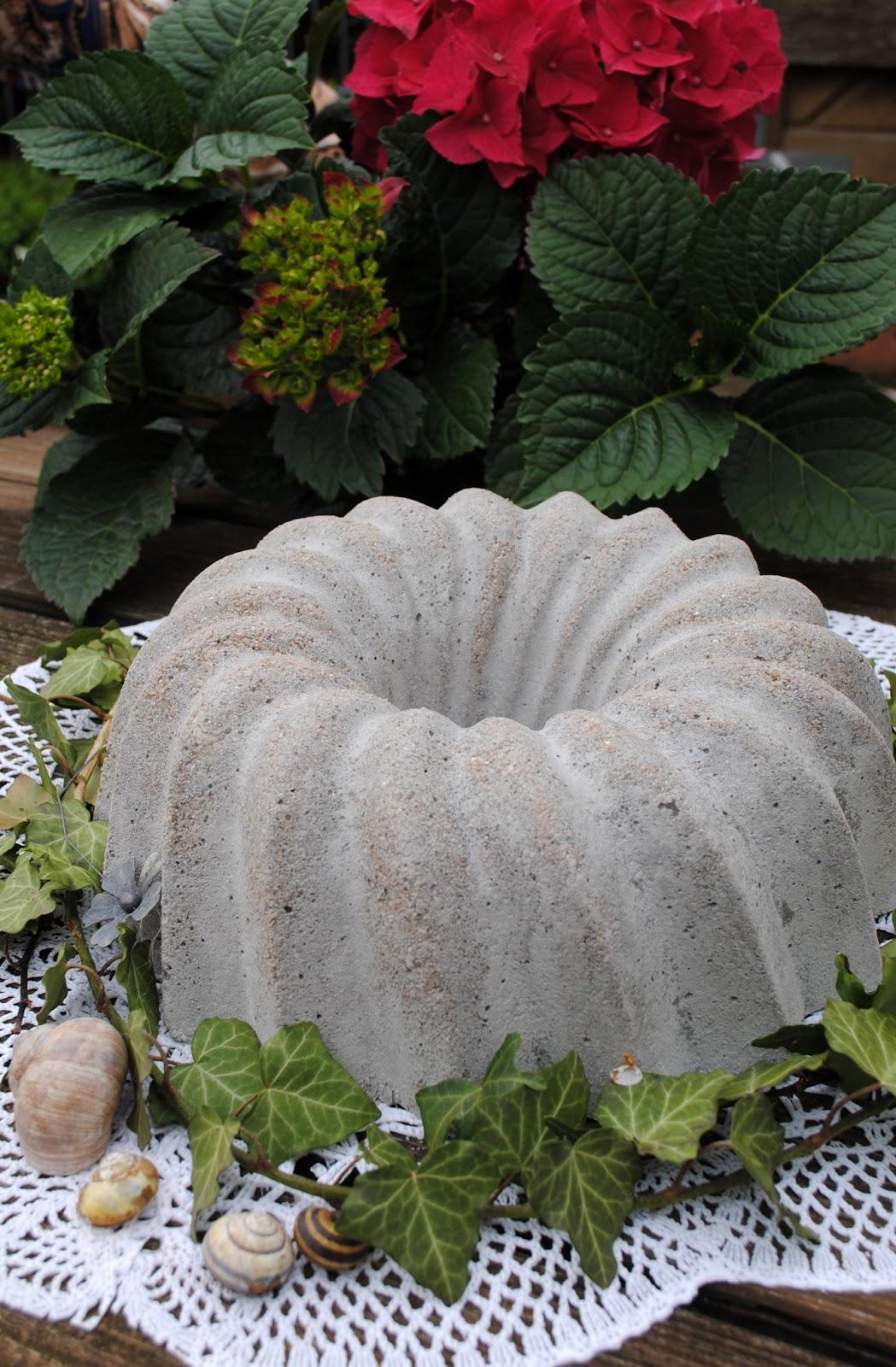 Gartendeko blog selbstgemachtes aus zement - Gartendeko aus beton selbstgemacht ...