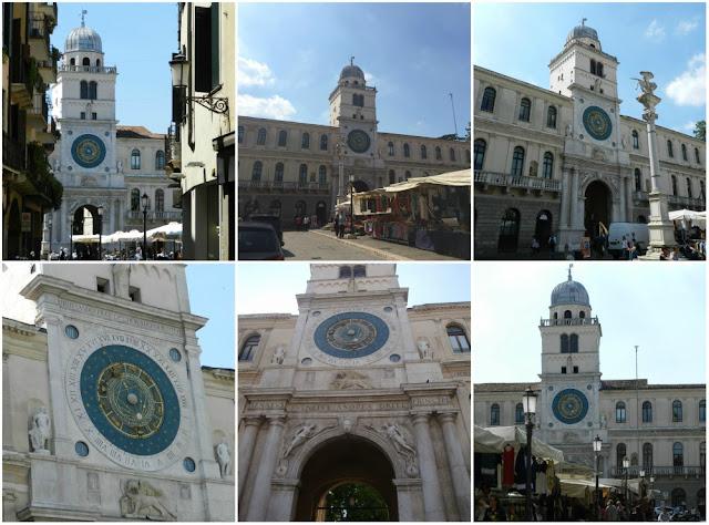 O que fazer em Padova (Pádua) além do Santo Antônio - Torre dell´Orologio na Piazza dei Signori