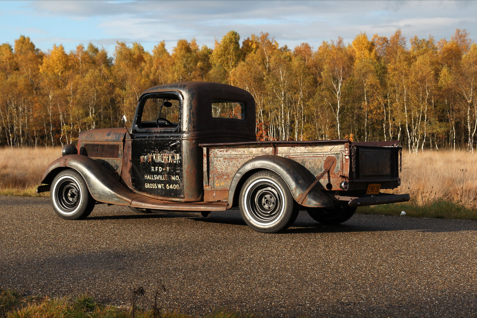Rodcitygarage 1951 1952 Ford Hot Rod Truck Pics 1937 Rat