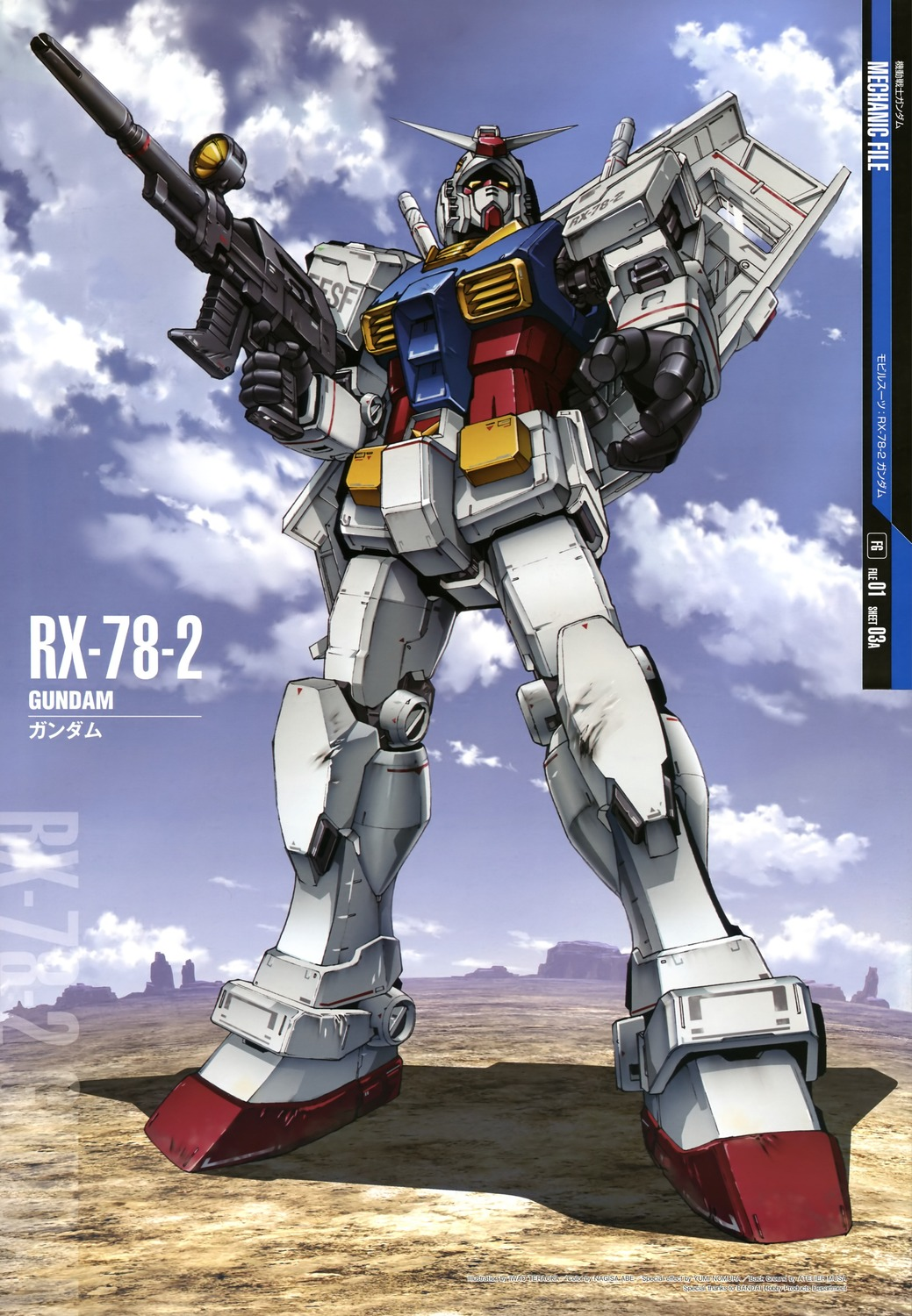 Gundam Mechanic File Posters