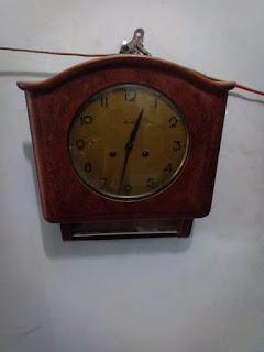 Jual jam antik kodok maunthe Original