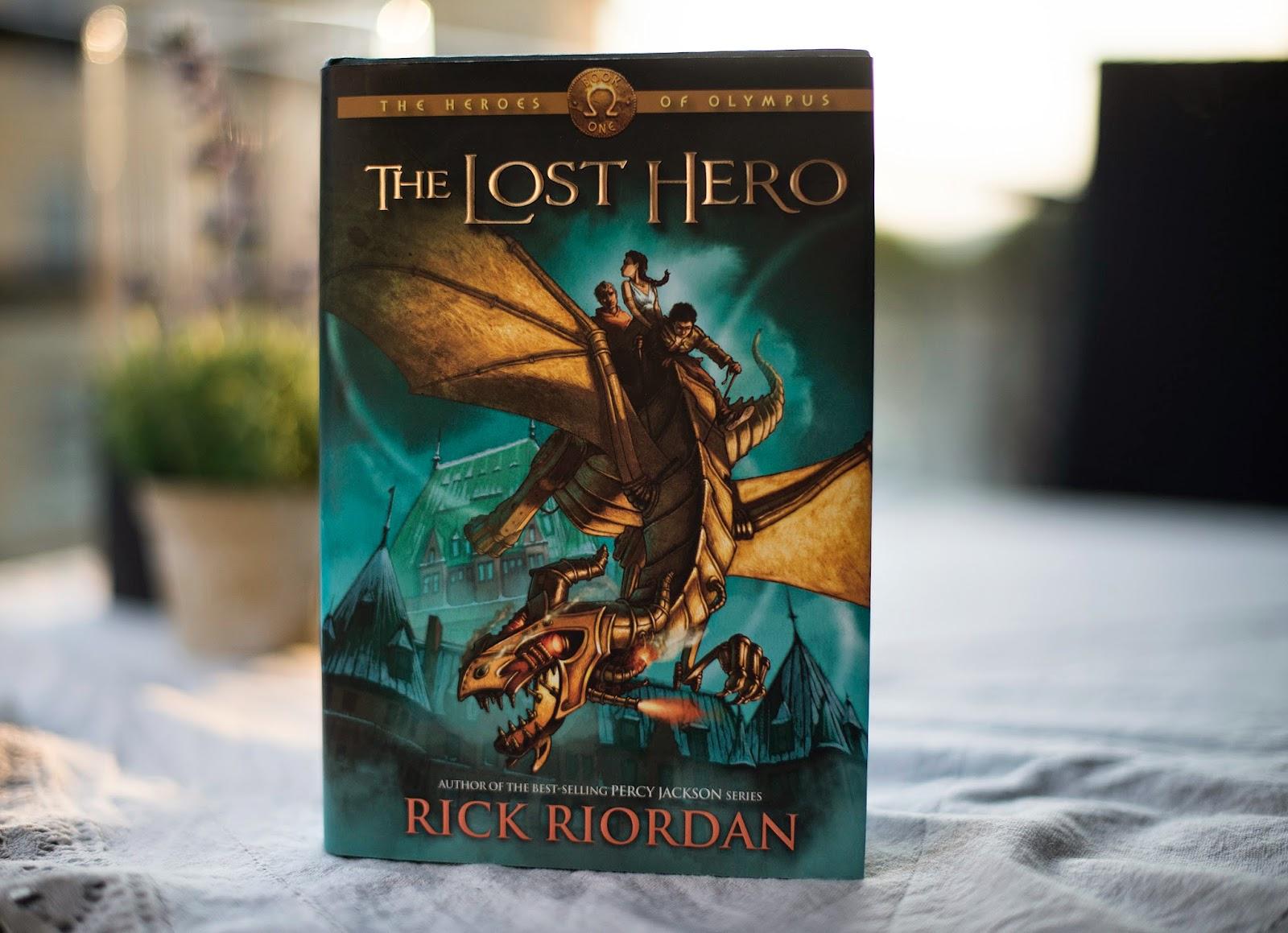 The lost hero book summary