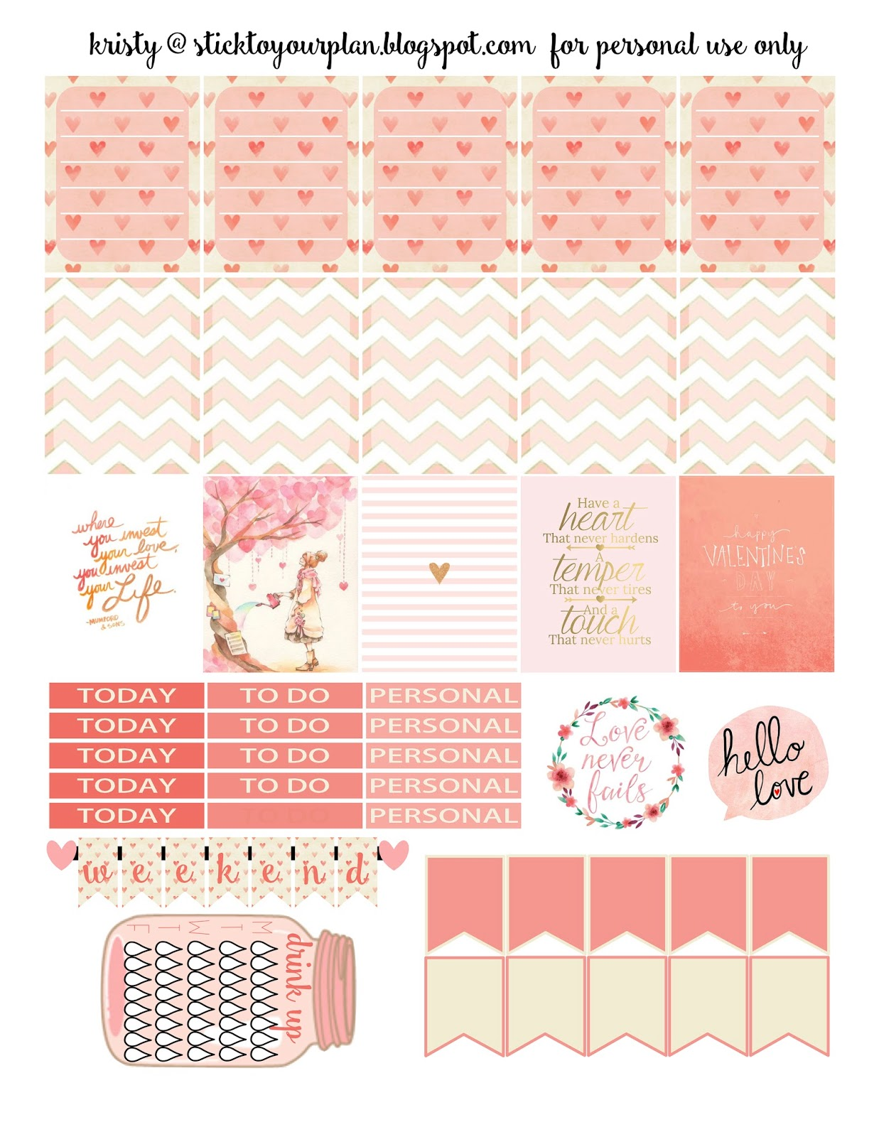 Planner calendrier on pinterest planner stickers free planner and free printable planner for Planner pinterest
