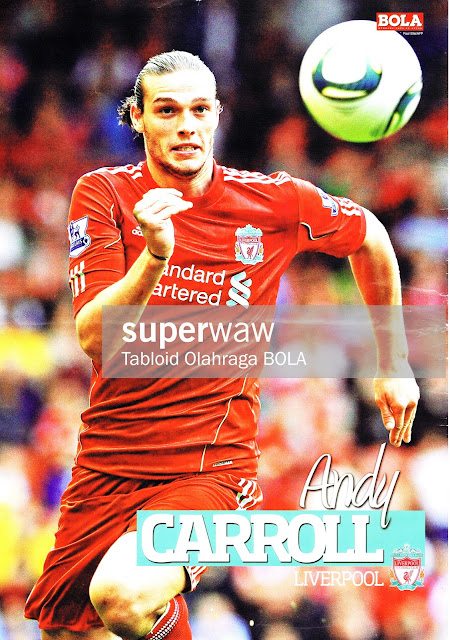 POSTER ANDY CARROLL (LIVERPOOL 2011)