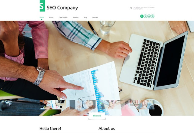 SEO Co WordPress Template