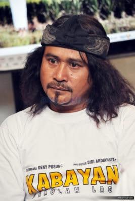 Mat Drajat Pemeran Utama Sinetron Kabayan Sekolah Lagi RCTI