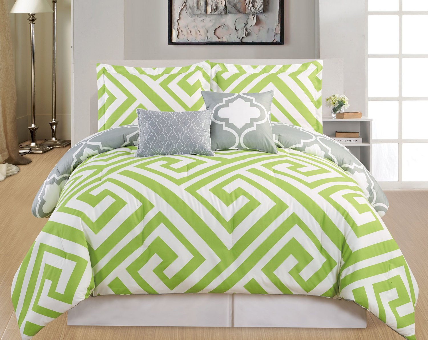 title | Lime Green Bedroom Set