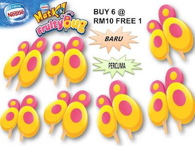 Nestle MatKool FruityBug