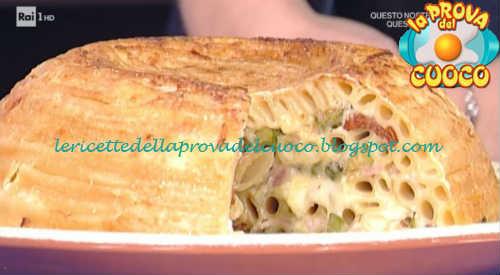 Prova del cuoco - Ingredienti e procedimento della ricetta Cupola di ziti di Andrea Mainardi