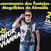 É hoje! Junior Vianna no encerramento dos festejos de Magalhães de Almeida.