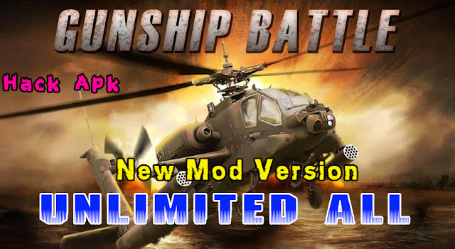 Download Gunship Battle : Helicopter Mod + Hack Android Application - 100% Working