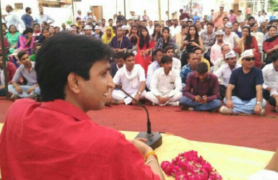 kumar vishwas, aam aadmi party, news in hindi, jaipur, aap, delhi, rajasthan, arvind kejriwal, congress, bjp, india, rahul gandhi, CYSS