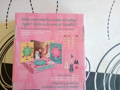 Caja de actividades: Muñecas y vestidos recortables