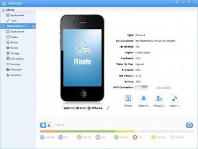 شرح و تحميل 3 iTools لإدارة محتوى iPhone و iPad