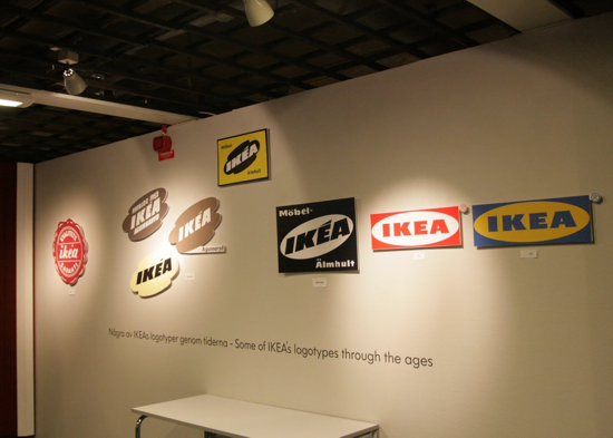 IKEA Museum and IKEA logo evolution