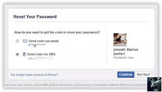 Metode SMS Cara Memulihkan Password Facebook Lupa