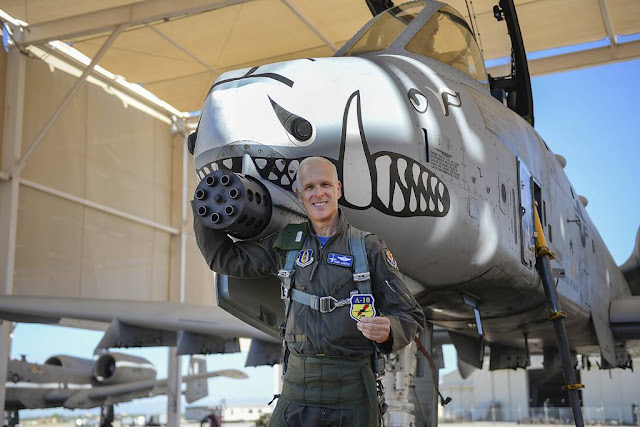 A-10 pilot reaches 5000 flight hours