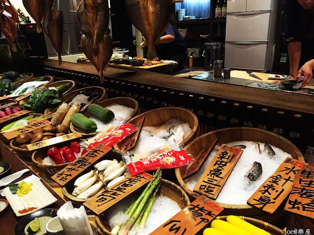 IMG 9619 - 【台中美食】來自日本傳統好滋味的 樂座端爐燒 @日本古早味@新鮮海鮮@新鮮蔬果~