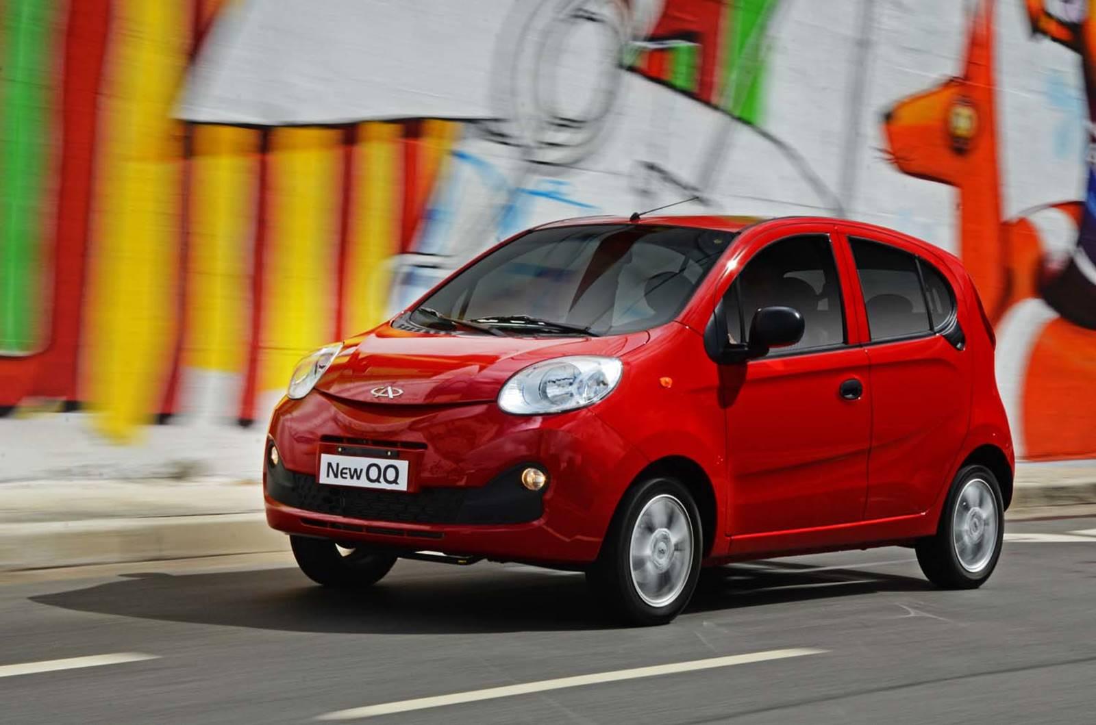 Fiat Mobi x Chery New QQ: preço, consumo e desempenho | CAR.BLOG.BR