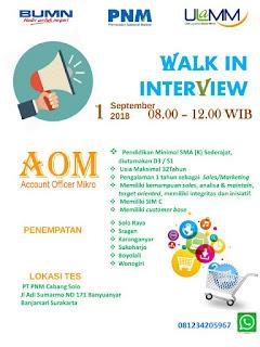 Jatengkarir - Portal Informasi Lowongan Kerja Terbaru di Jawa Tengah dan sekitarnya - Lowongan Kerja di P PNM Cabang Solo