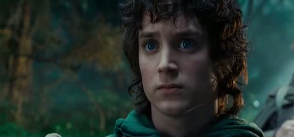 Screen Shot Of The Lord of the Rings (2001) Dual Audio Movie 300MB small Size PC Movie