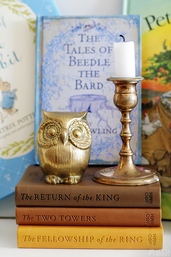The Lord of the Rings sagan om ringen tales of beedle the bard alicia sivert aliciasivert uggla owl mässing brass
