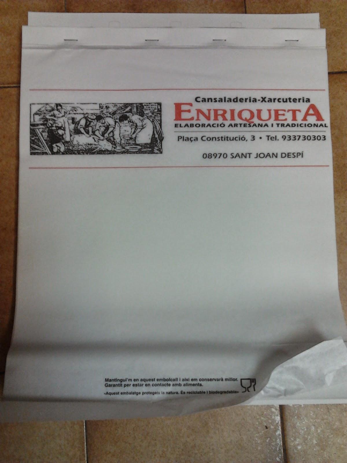 papel antigrasa block para colgar, personalizado