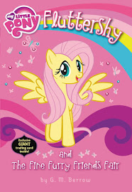 MLP Fluttershy and the Fine Furry Friends Fair Books