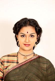 Keerthy Suresh in Saree Mahanati