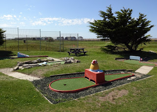 Crazy Golf course at MiniLinks Golf in Lytham Saint Annes