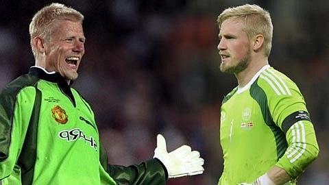 Kasper và cha của mình - một thủ môn xuất sắc
