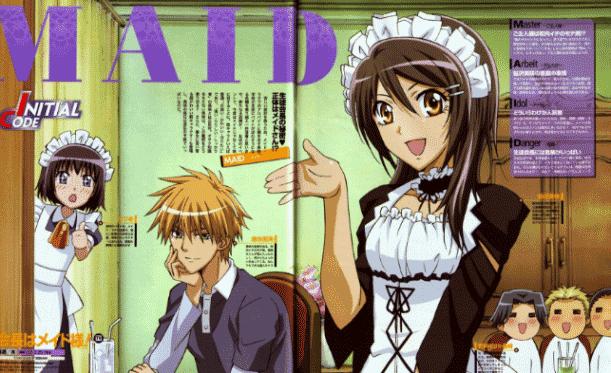 Kaichou wa Maid-Sama - Best J.C.Staff Anime list