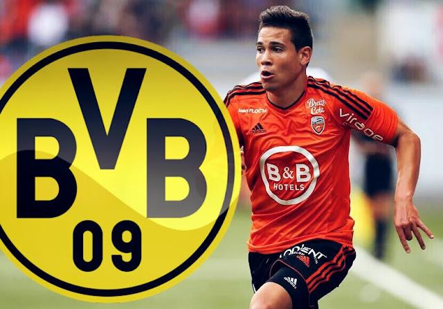 OFICIAL: Raphaël Guerreiro é o novo reforço do Borussia Dortmund